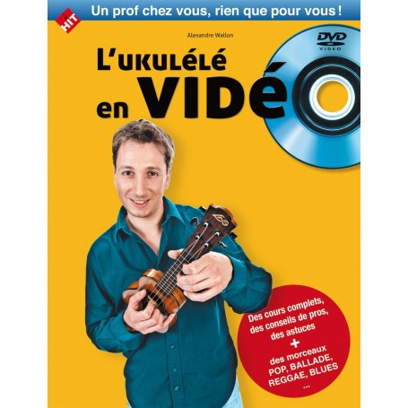 L'ukulélé en vidéo (DVD)