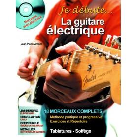 Je débute la guitare électrique