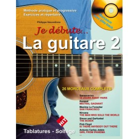Je débute la guitare 2 - Version sans DVD