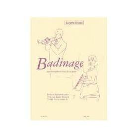 BADINAGE pour trompette en Ut ou Sib et piano De Eugène BOZZA