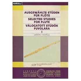 SELECTED STUDIES FOR FLUTE 1 (Bantai-Kovacs)