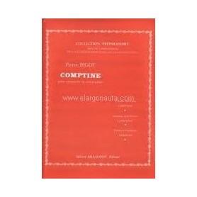 COMPTINE de Pierre BIGOT pour Trompette Ut et Si et piano