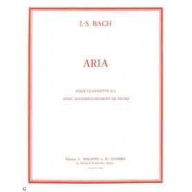 ARIA de J.S. BACH pour TROMPETTE OU CLARINETTE DE LA SUITE EN RE