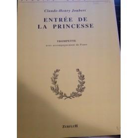 ENTRE DE LA PRINCESSE pour Trompette de Claude Henri JOUBERT