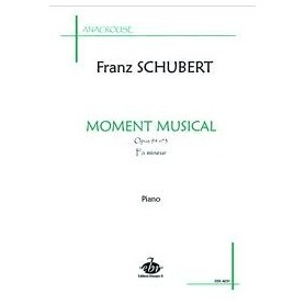MOMENT MUSICAL de Franz SCHUBERT Piano