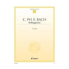 SOLFEGGIETTO de Carl Ph. Em. Bach pour Piano