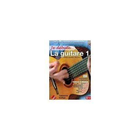 JE DEBUTE LA GUITARE 1 avec CD d'accompagnement