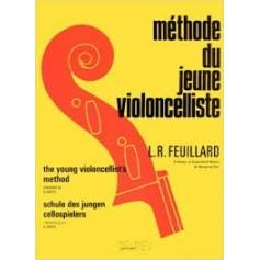 MÉTHODE DU JEUNE VIOLONCELLISTE de L.R FEUILLARD
