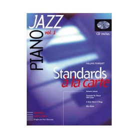 PIANO JAZZ VOL 1 STANDARDS A LA CARTE de PHILIPPE FOUQUET