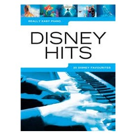 DISNEY HITS collection REALLY EASY PIANO