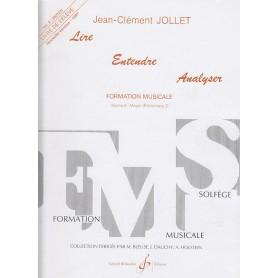 LIRE ENTENDRE ANALYSER de Jean Clément JOLLET Vol 5 LIVRE DE L'ÉLÈVE